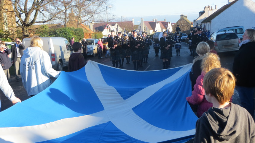 St Andrew's Day Service 2014