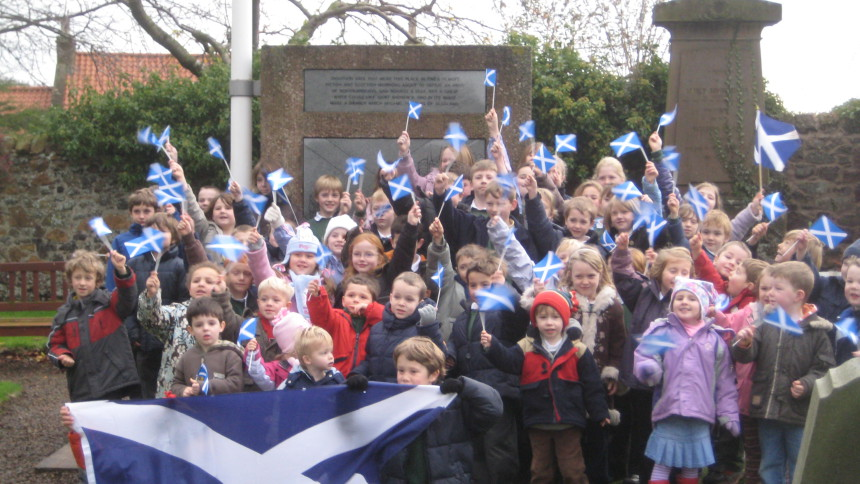Bairns At Athelstaneford