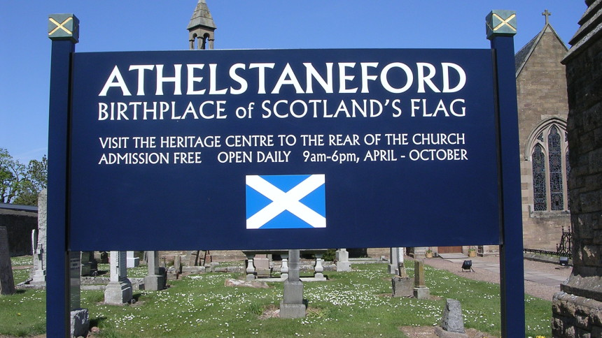 Athelstaneford Sign