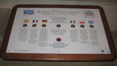 Languages Console Doocot Athelstaneford