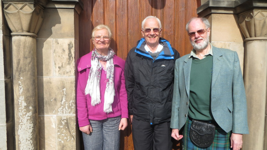 New Faces At Athelstaneford Flag Trust