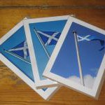 Althelstaneford Saltire Cards