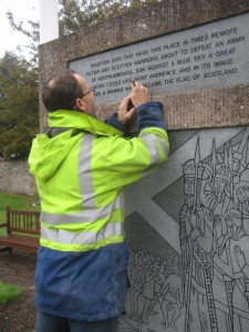 Restoration Of Athelstaneford Memorial
